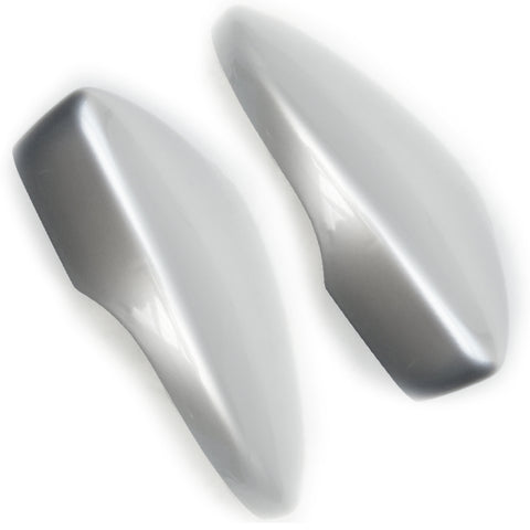 VW Passat b7 Reflex Silver Wing Mirror Covers Left & Right Sides Pair