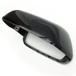 VW Polo 2005-2009 Left Passenger Side Door Wing Mirror Cover Black