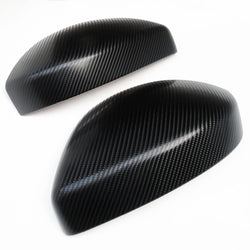 Range Rover Evoque 2014 > Black Carbon Fibre Effect Wing Mirror Covers