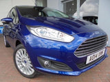Ford Fiesta mk7 Right Wing Mirror Unit with Deep Impact Blue Cover