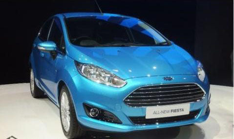Ford Fiesta Mk7 Right Wing Mirror Cover Cap Vision Blue