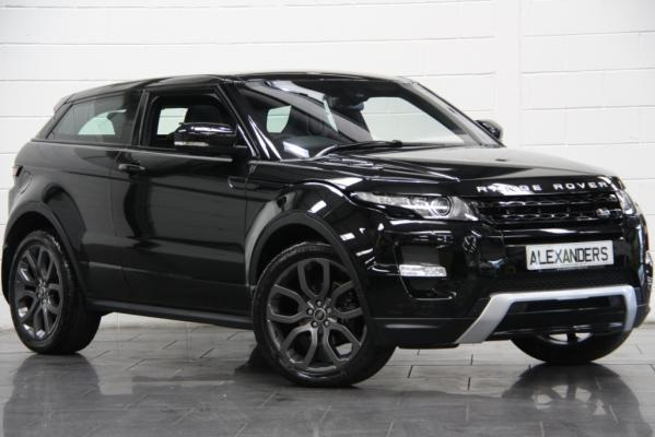 Range Rover Evoque Gloss Black Dynamic Style Stealth Front