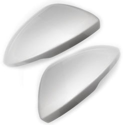Vauxhall Astra / Insignia Sovereign Silver Door Wing Mirror Covers Caps Pair