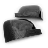 Renault Trafic 2014-19 Black Carbon Fibre Effect Wing Mirror Covers