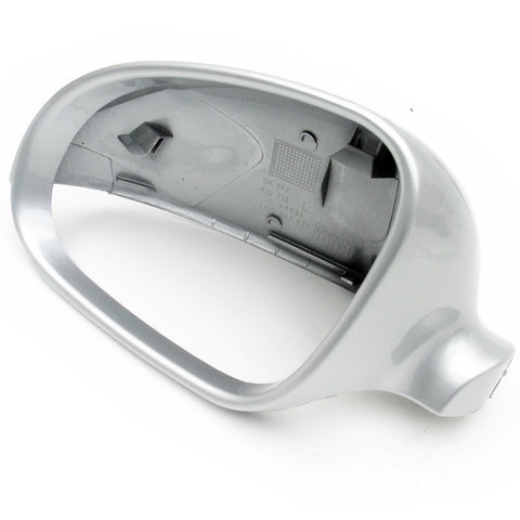 VW Golf mk5 Reflex Silver Left Side Door Wing Mirror Cover Cap Casing