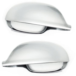 VW Golf mk5 Wing Mirror Covers Caps Reflex Silver - Left & Right