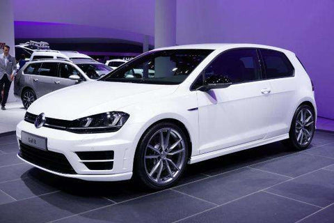 Vw Mk7 Golf R Style Gloss Black Wing Mirror Covers Caps Underground Parts