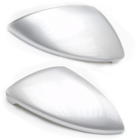 VW Golf mk7 Wing Mirror Covers Caps Reflex Silver Pair Left & Right