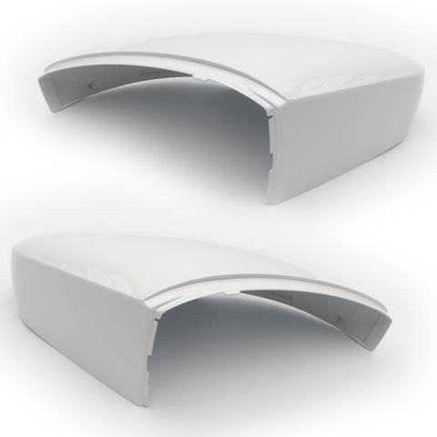 VW Polo 6R 2009-2017 Pure White Wing Mirror Covers Pair Left & Right