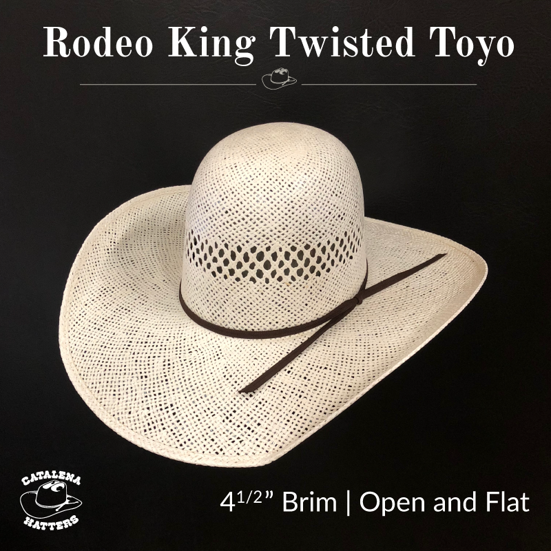 ca127e9fd7 Catalena Hatters - Straw Hats - Rodeo King