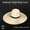 Palm Leaf Solid