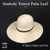 Palm Leaf Vented