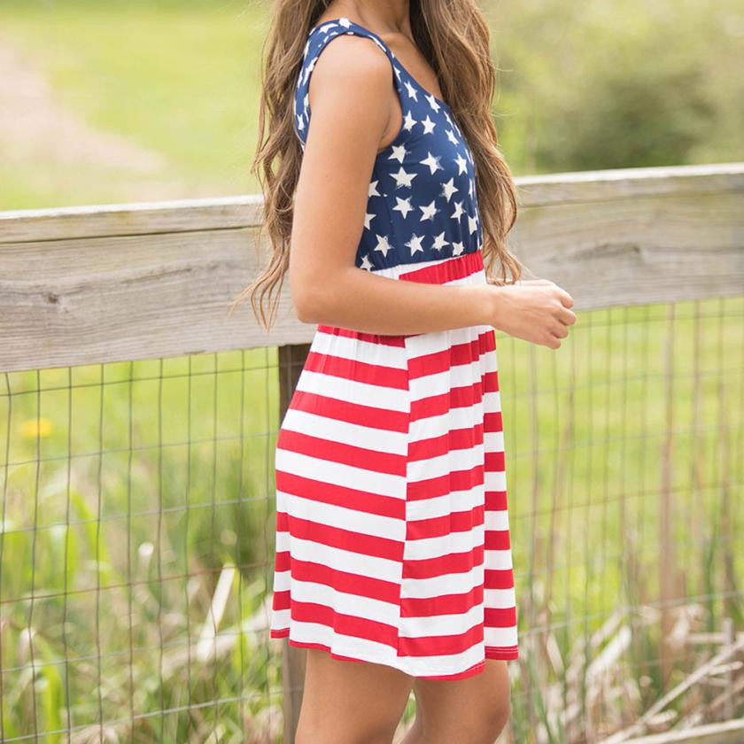 Sexy Summer Fourth of July Dress UptownLists