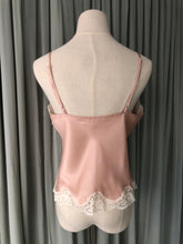 Dusty Pink Satin Cami Top