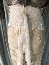 """Canary"" Rare 1800s French Lace Dress"