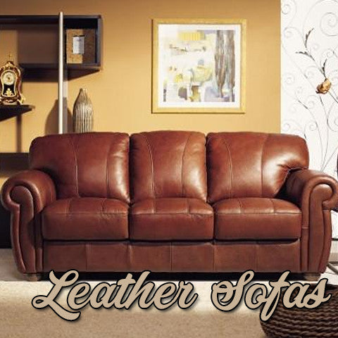 Leather Sofas & Settees