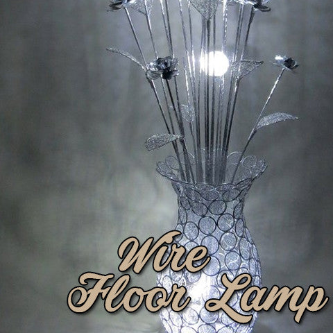 Wire Floor Lamps