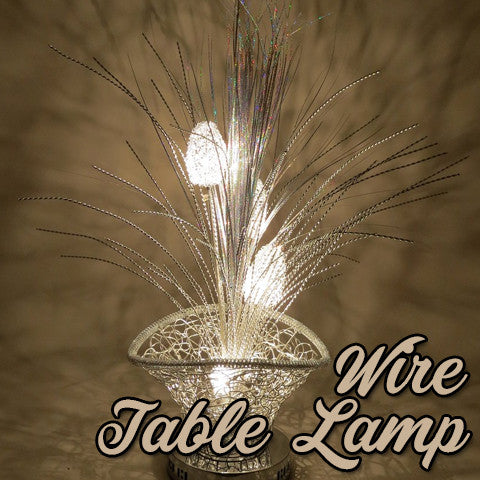 Wire Table Lamps