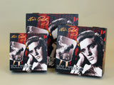 Elvis Presley King of Rock Red 3 Piece Storage Box Set Stackable
