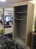 Glidestore Wardrobe in Sonoma Oak