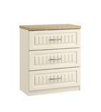 Portofino 3 Drawer Midi Chest of Drawers