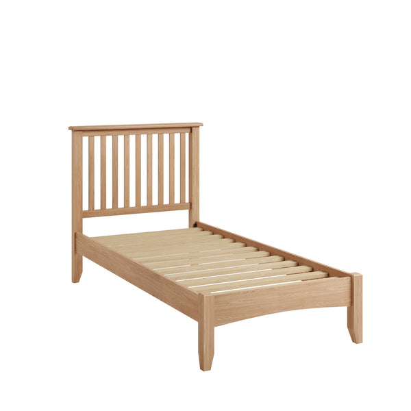 Light Oak Effect Single Bed