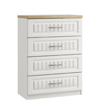 Portofino 4 Drawer Midi Chest of Drawers