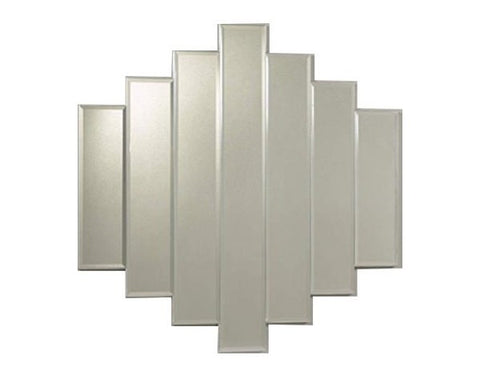 7 Bar Diamond Wall Mirror