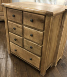 Weathered Oak 7 Chest of Drawers