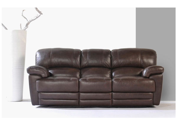 Brown Leather Manual Recliner Reclining Sofa, Seat, Chair, Settee, 2 Seater, 3 Seater