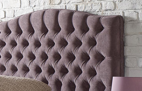 "Highgate Curve Chesterfield 48"" Floor Standing Headboard"