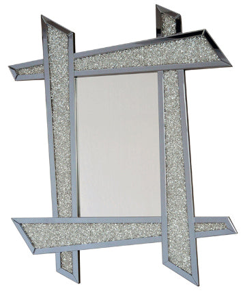 Diamante Filled Funky Frame Wall Mirror
