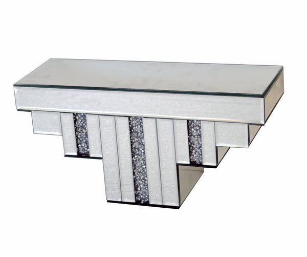 Diamante Art Deco Mirrored Shelf