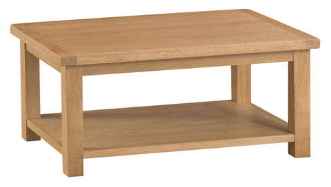 Oak & Hardwood Natural Coffee Table