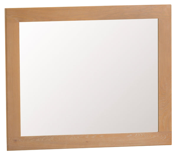 Oak & Hardwood Natural Large Mirror