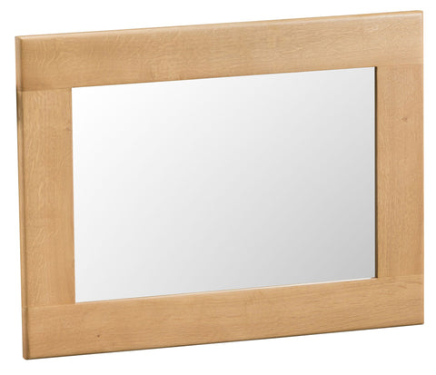 Oak & Hardwood Natural Small Mirror