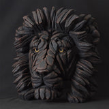 Edge Sculpture Black Limited Edition Lion Hand Painted Ornament Figurine
