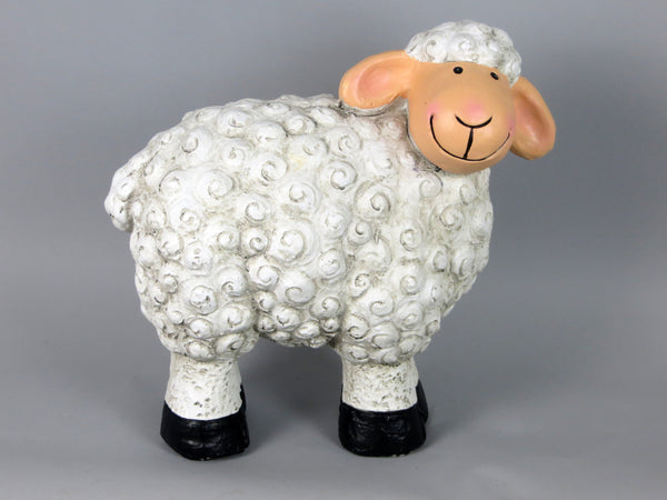 Small Standing Sheep Garden Ornament