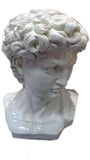 Small White Roman Bust of Caracalla Ornament