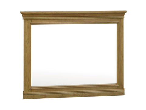 Loire French Oak Large Wall Mirror