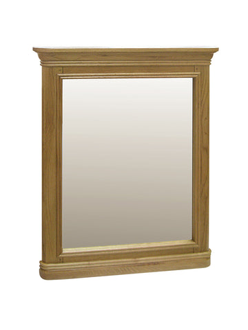 French Oak Loire Small Rectangle Mirror