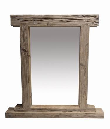 Drift Wood Chunky Free Standing Mirror