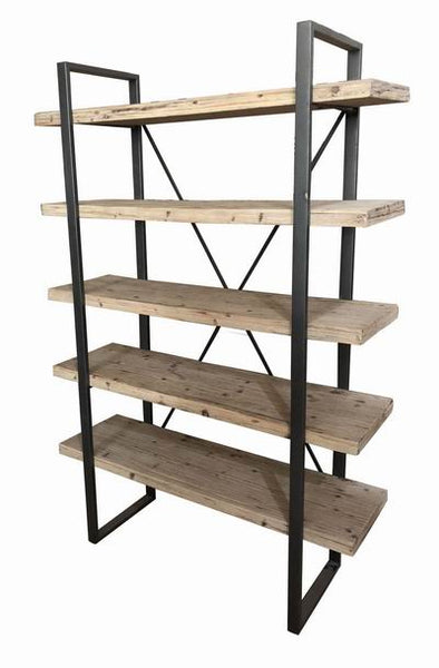 Drift Wood Overlapped Shelving Unit