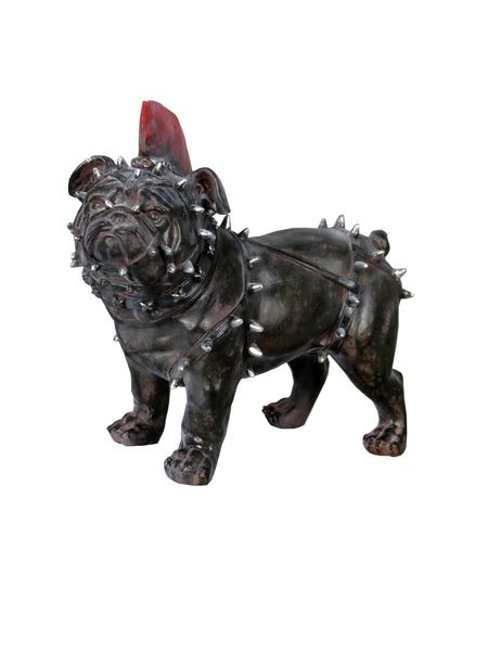 Punk Pug In Spike Body Harness Ornament