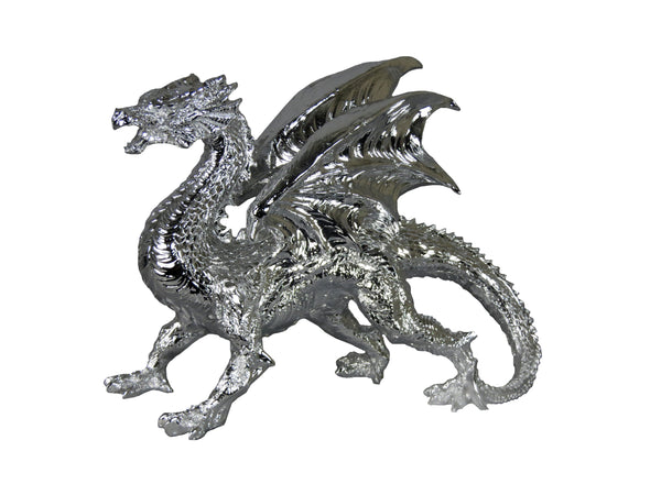 Silver Electroplated Dragon Ornament (Small) Game of Thrones