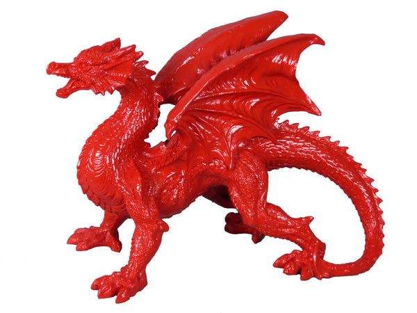 Red Welsh Dragon Ornament