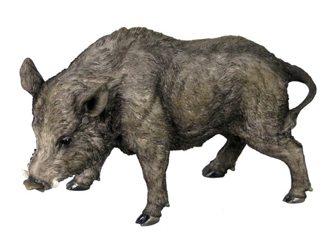 Standing Wild Boar Ornament