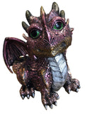 Sitting Purple Baby Dragon Ornament