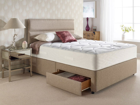 Supreme Comfort 1000 Pocket Spring Divan Set (2 Free Drawers)