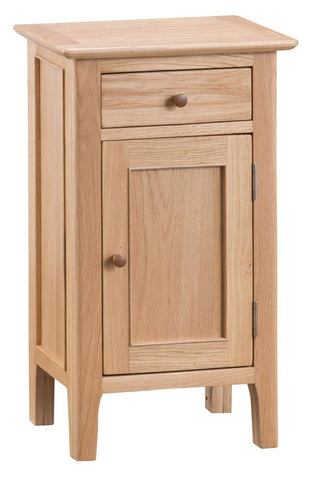 Oak & Hardwood Danish Style Small Cupboard